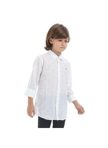 Robe di Kappa Rdk Çocuk Gömlek Barn  Gri
